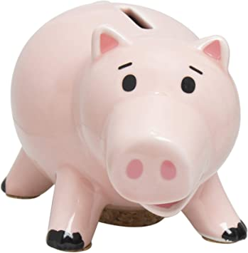 Toy Story Hamm Piggy Bank Pink Pig Coin Giocattoli con figure in box regalo IT