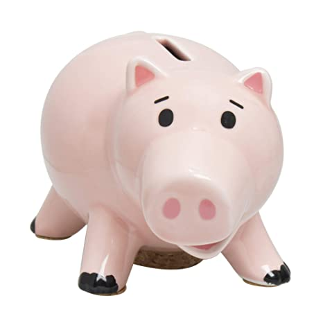 amazon com disney toy story piggy bank ham san2526 toys games