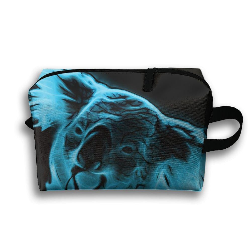 DTW1GjuY Lightweight And Waterproof Multifunction Storage Luggage Bag Koala Pop Art