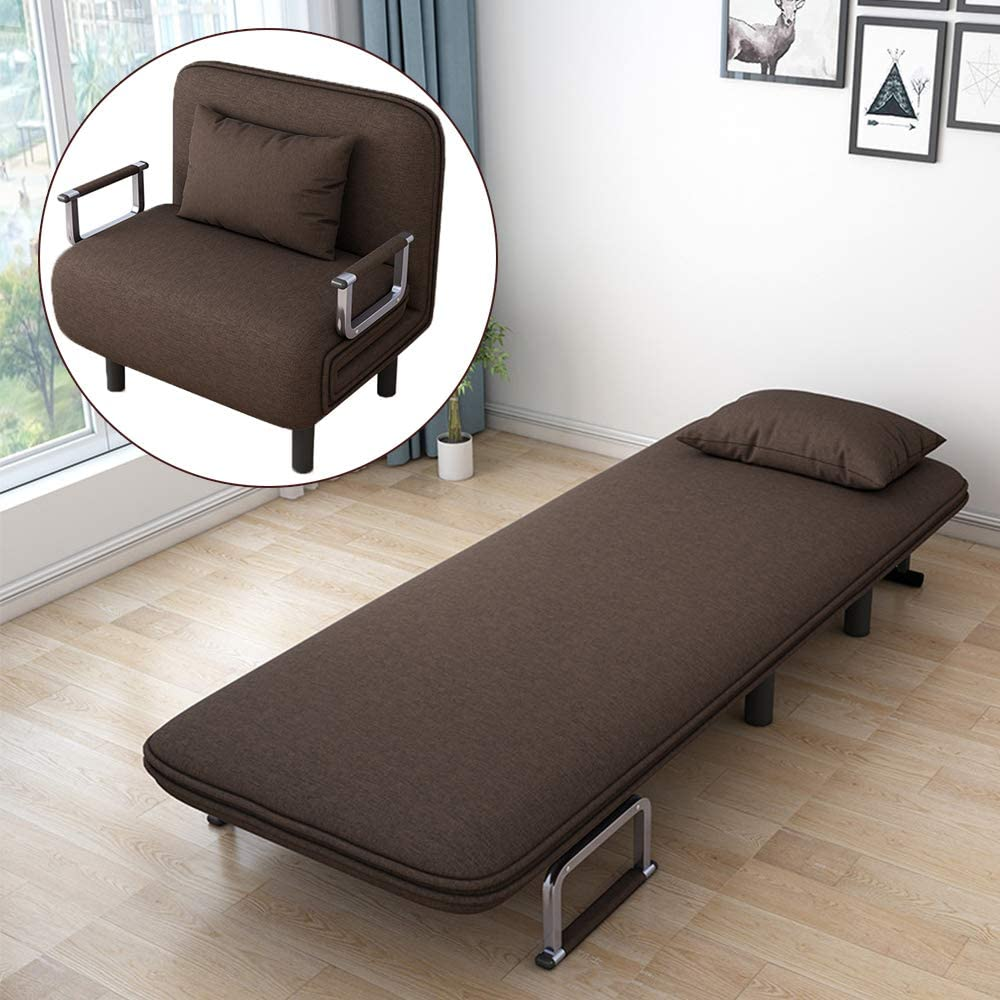 - Amazon.com: Follure Folding Sofa Bed, Convertible Couch Bed Chair