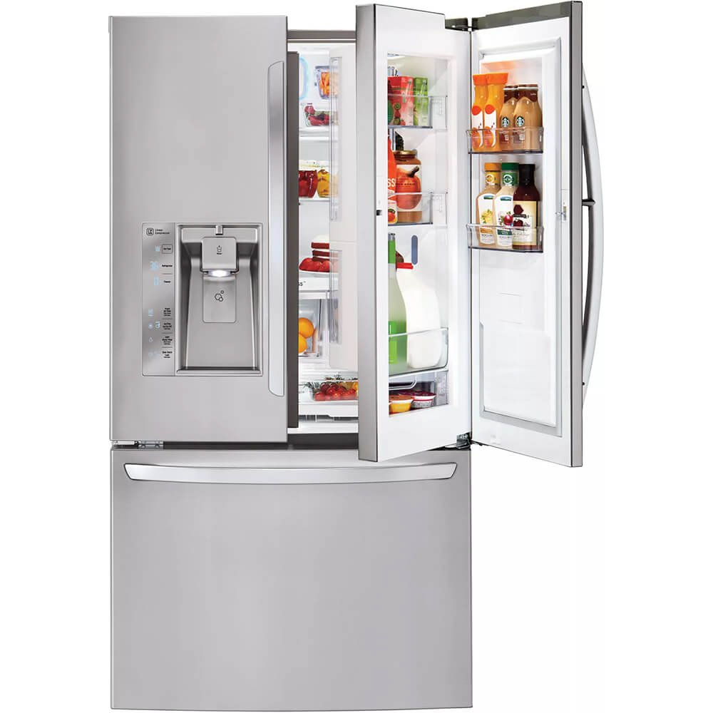Amazon.com: LG LFXS32766S 32.0 Cu. Ft. Stainless Steel French Door  Refrigerator - Energy Star: Appliances