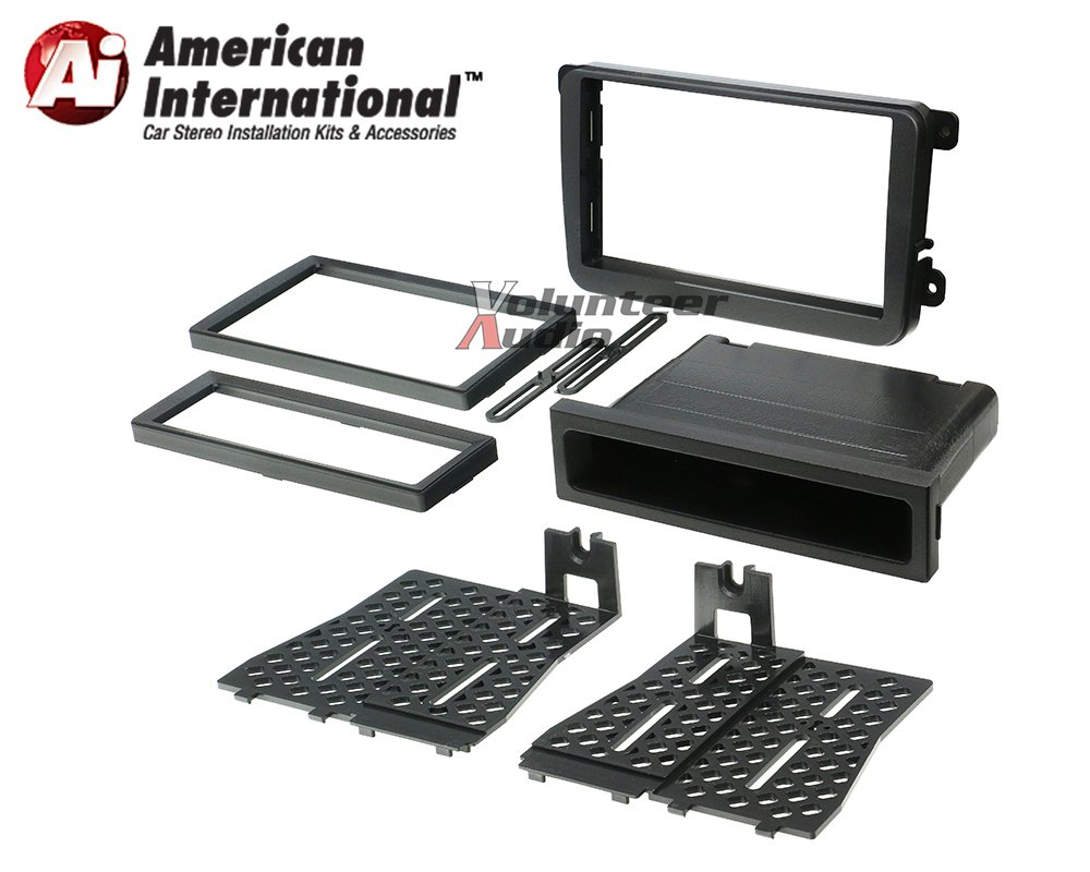 Pioneer AVH-501EX Double Din Radio Install Kit with DVD/CD Player Bluetooth Fits 2012-2014 Volkswagen Beetle, 2010-2014 Golf, 2006-2015 Jetta by Volunteer Audio (Image #3)