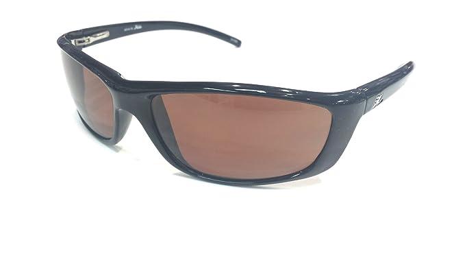 02be934080 Image Unavailable. Image not available for. Color  Hobie Unisex Venice  Black Frame Copper Sport Wrap 60mm Polarized Sunglasses