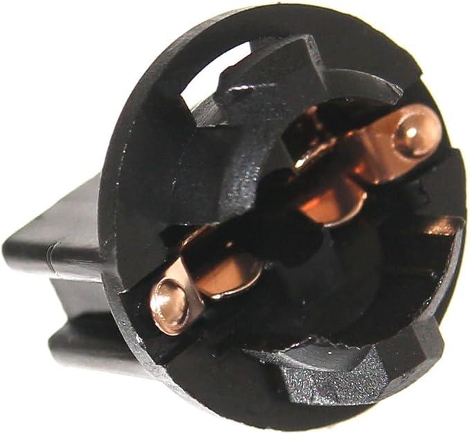 12x T10 Fassung Für Flipper W5w Glassockel Automaten W2 1x9 5d Lampenfassung Ge555 Ge159 194 Neu Beleuchtung 6 3v 12v Joy Button Auto
