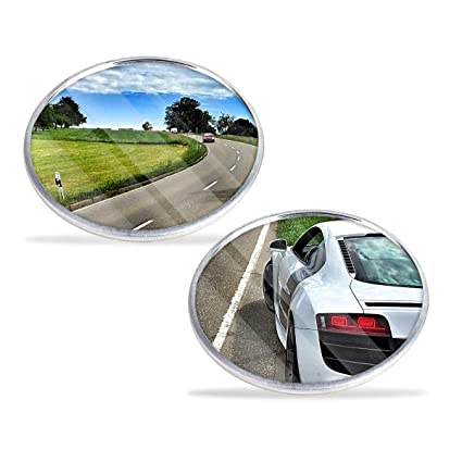 Blind Spot Mirror Round Stick On Extra Angle Easy Reverse Aid For Vauxhall