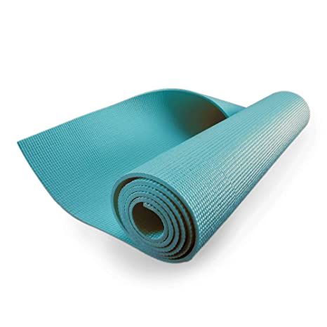 Amazon.com : ZIVA Fitness Portable Yoga Mat for Stretching ...