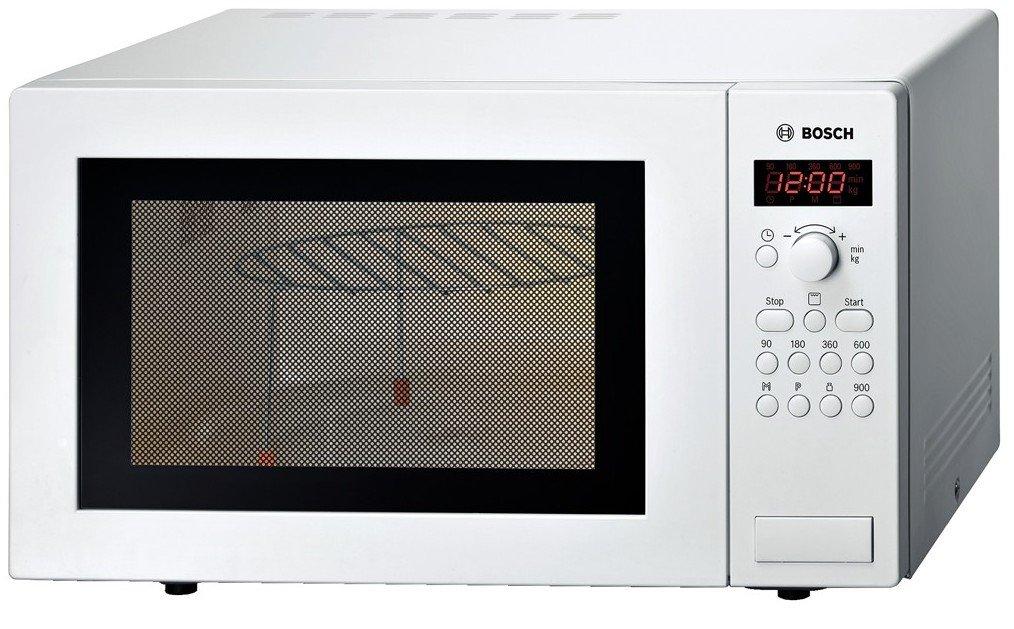 Bianco Bosch HMT84G421 Microonde da libero posizionamento 900 Watt