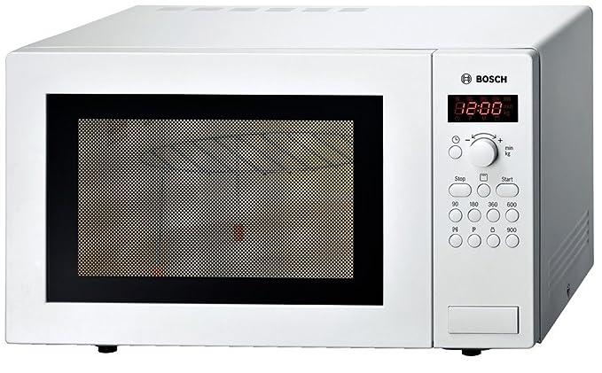 Bosch HMT84G421, Blanco, 513 x 408 x 305 mm, 16000 g - Microondas ...