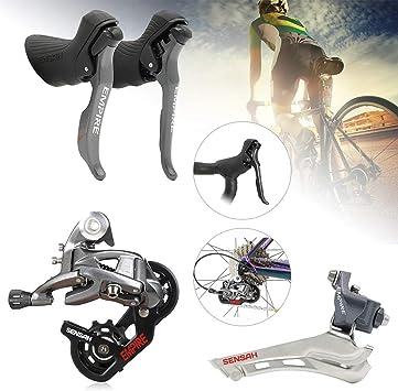 Shimano Sram - Juego de Cambio de Palanca para Bicicleta (2 x ...