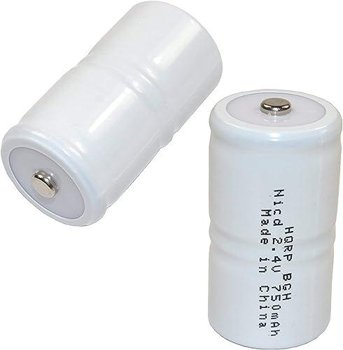 HQRP 2-Pack Battery compatible with TIF8800, TIF8800A, TIF8806, TIF8806A, TIF8850, TIF8900-A Combustible Gas Detector Meter Test Equipment, NP-5459, NP5459 Robinair