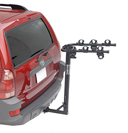 Hollywood Racks HR6100 Traveler 3-Bike Hitch Mount Rack 1.25-Inch Receiver