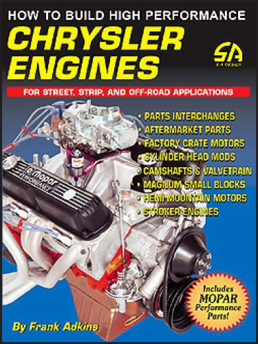 How to Build High Performance Chrysler Engines (S-A Design ...