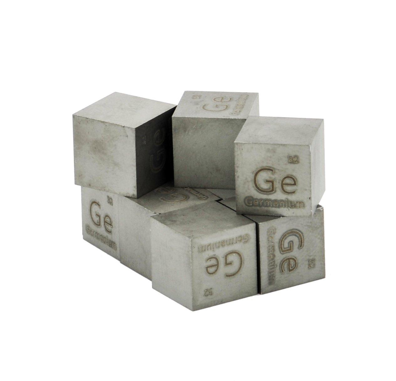 Germanium Metal 10mm Density Cube 99.999% Pure
