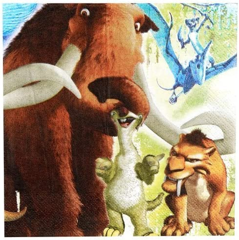 Ice Age Lunch Napkins 16ct