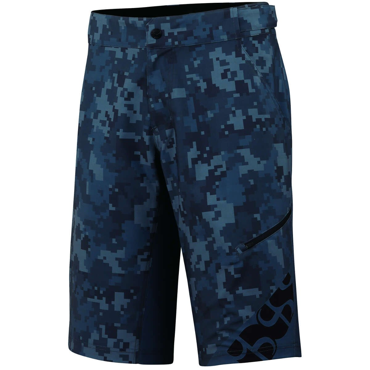 IXS Kids Downhill-Short Culm Camo Graphit