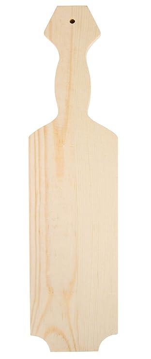 Amazon.com: Pala de madera inacabada – pala de pino de ...