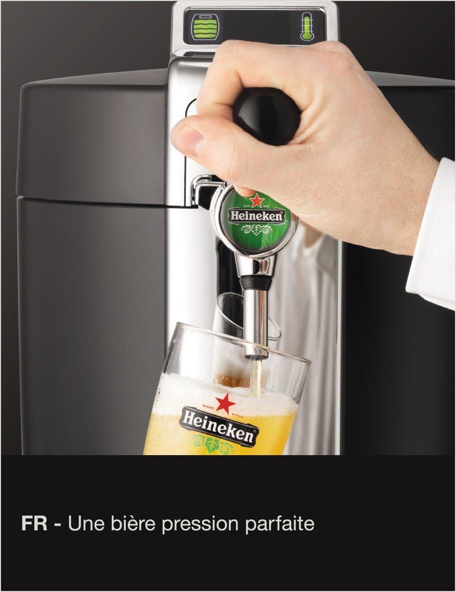 Krups VB5020FR - Dispensador de cerveza, color negro y metálico