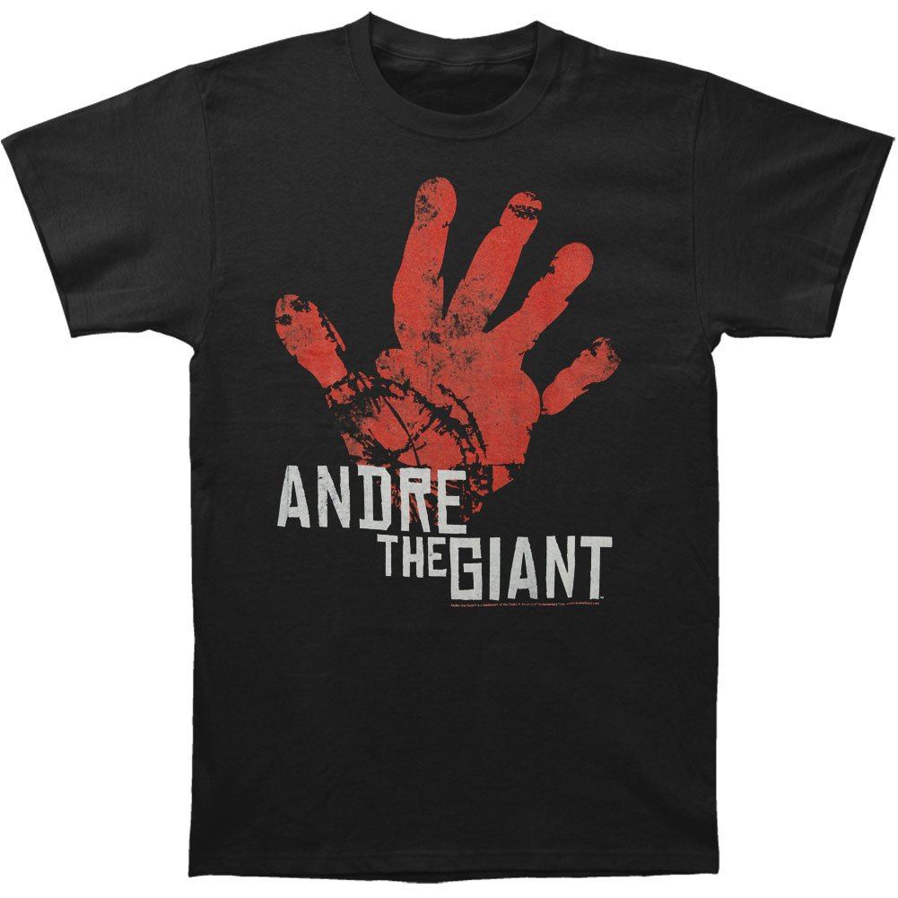 Andre The Giant Men's Hand T-shirt X-Large Black