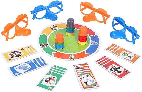 Family Fun Liar Game Fibber Board Game Incluye Divertidos Lentes y Tarjetas Growing Nose Interesante Juguetes Interactivos Familiares para Niños Adultos: Amazon.es: Juguetes y juegos