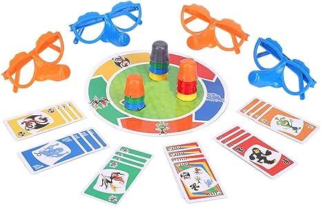 Juego de cartas, Juego de mesa Juguete divertido de fiesta Set Juguetes interactivos familiares interesantes para niños adultos: Amazon.es: Bebé