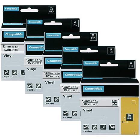 Amazon.com: Dymo 18444 18445 18443 cinta para impresora ...