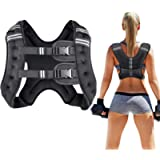 Prodigen Running Weight Vest for Men Women Kids 8 12 16 20 25 30 Lbs Weights Included, Body Weight Vests for Training…