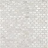 Mini Brick Oyster White Pearl Tile Mini Brick Pattern