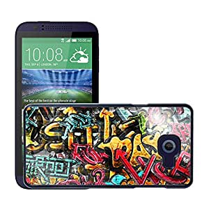 Print Motif Coque de protection Case Cover // V00002377 Pintada en la pared // HTC Desire 510