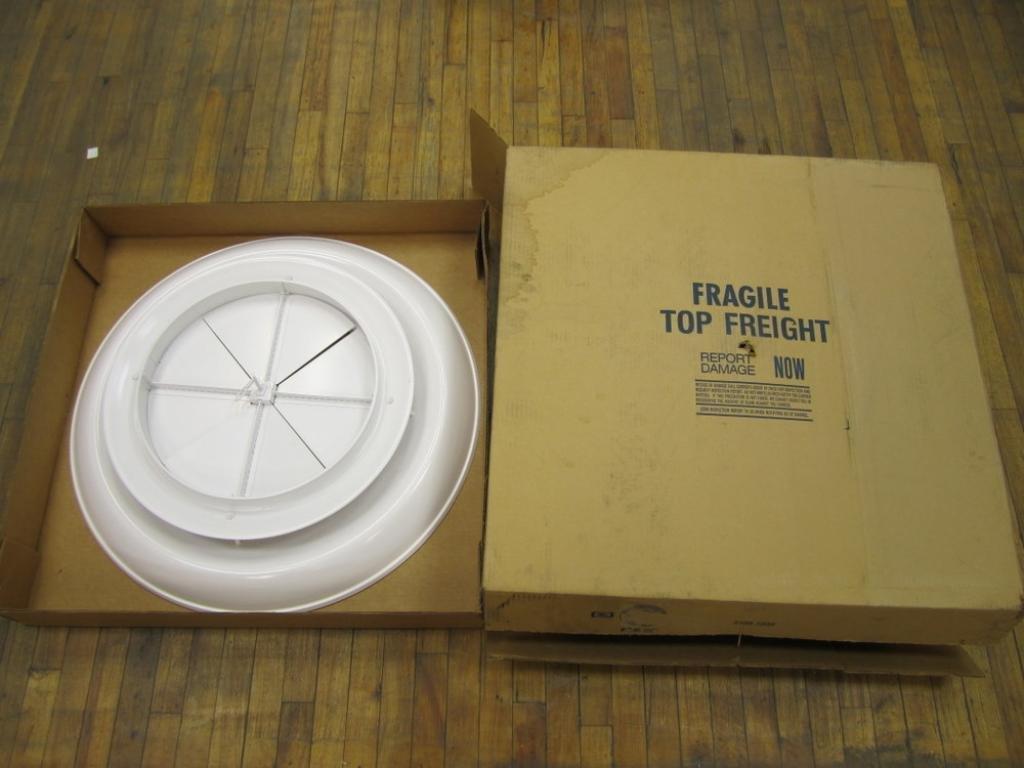 Krueger RIDBR10 Round Steel Diffuser