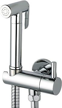 Azos Hand Held Bidet Sprayer Diaper For Toilet Shattaf Sets With Brass Bracket Holder Wall Mounted Bathroom Chrome Polish Fxq011 Bidet Faucets Amazon Canada