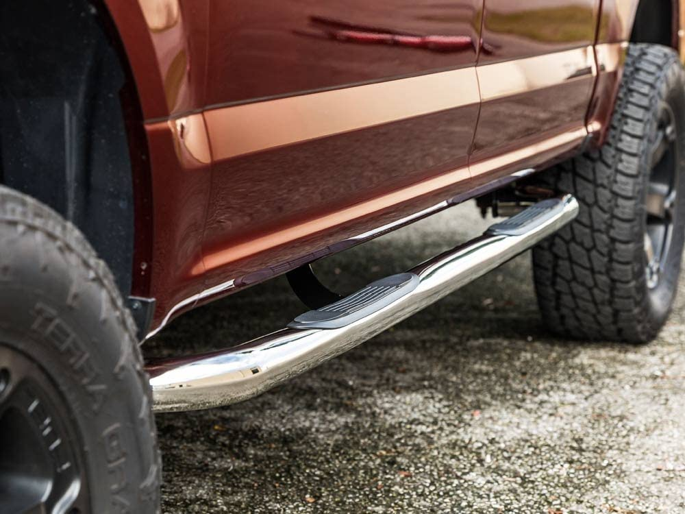2004-2010 Dodge Durango and 2007-2010 Chrysler Aspen Only Nerf Bars Side Steps Ionic 3 Stainless 221117 fits