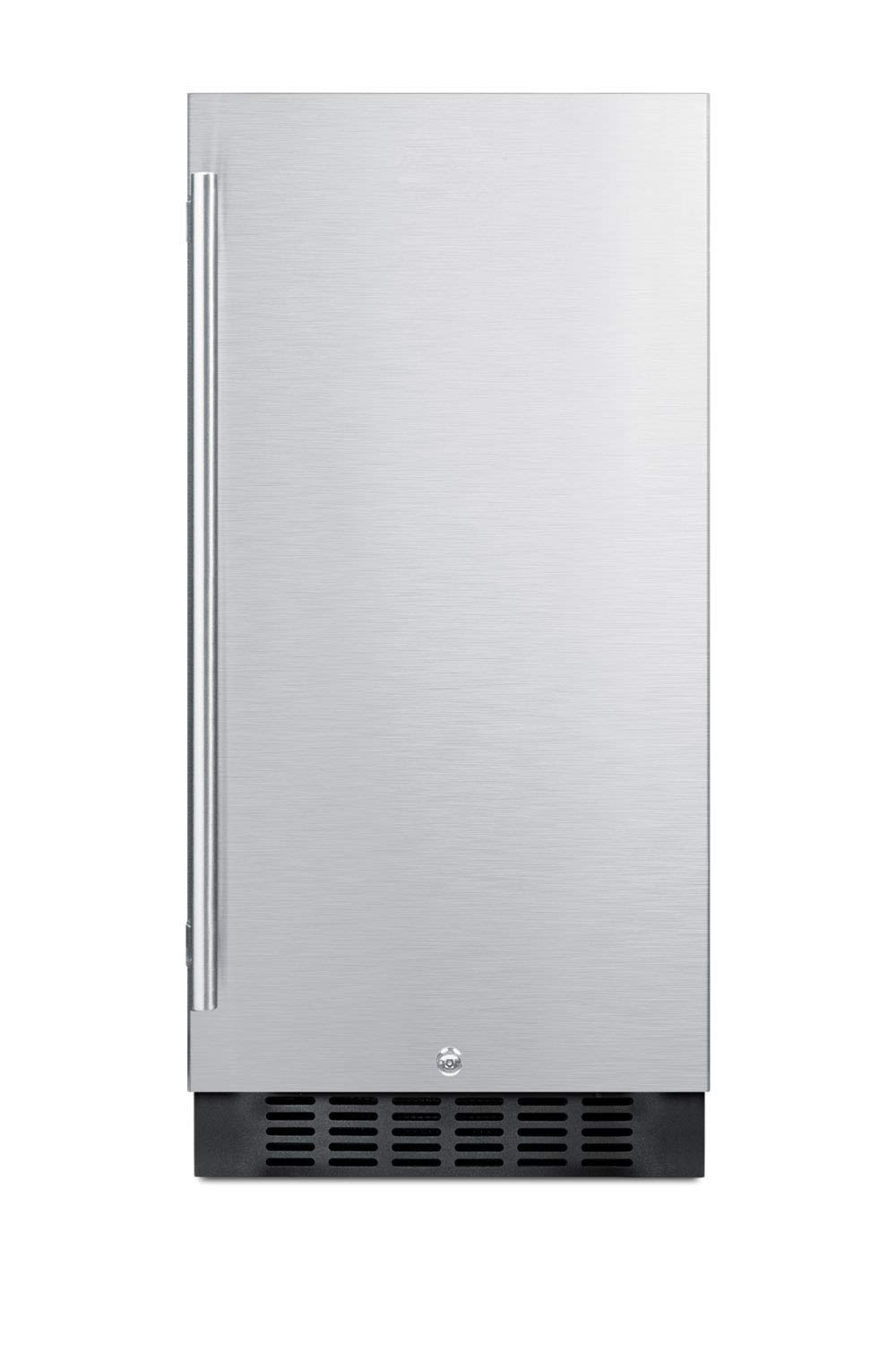 Summit ALR15BCSS 15 Inch Wide 2.2 Cu. Ft. Compact Refrigerator