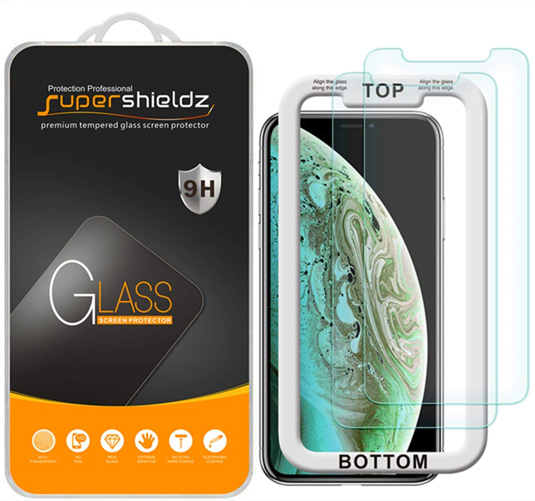 Vidrio Templado Para iPhone 11 Pro Max [2 Un.] Supershieldz