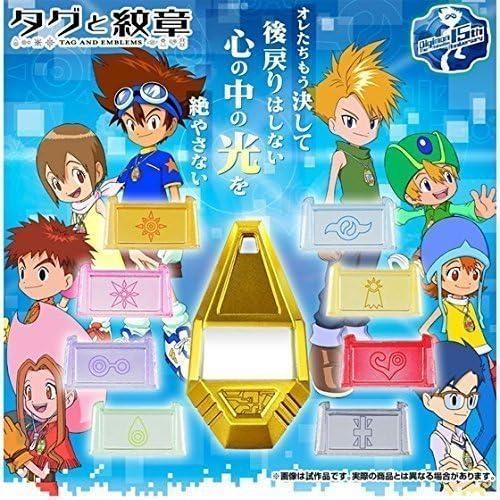 BANDAI Digimon Adventure Tag & Crest Emblem with Premium Pins by: Amazon.es: Juguetes y juegos