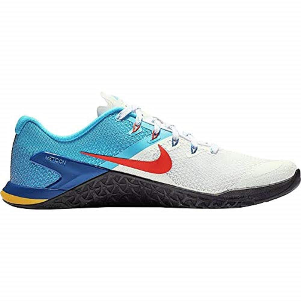 Nike Men's Metcon 4 Training Shoes (12, White/Bright Blue)