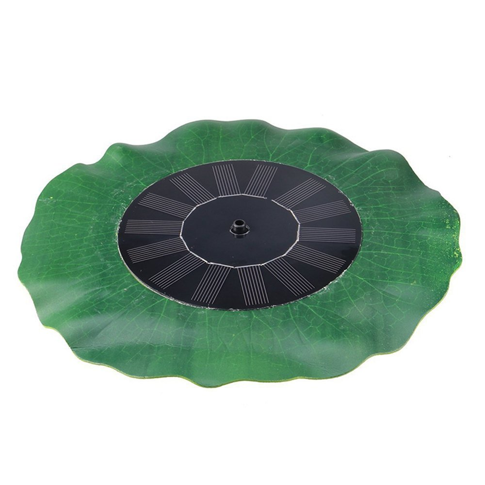 HUANGYABO Lotus-Shaped Solar Power Fountain Pump 7V Waterproof Solar Water Pump For Pump