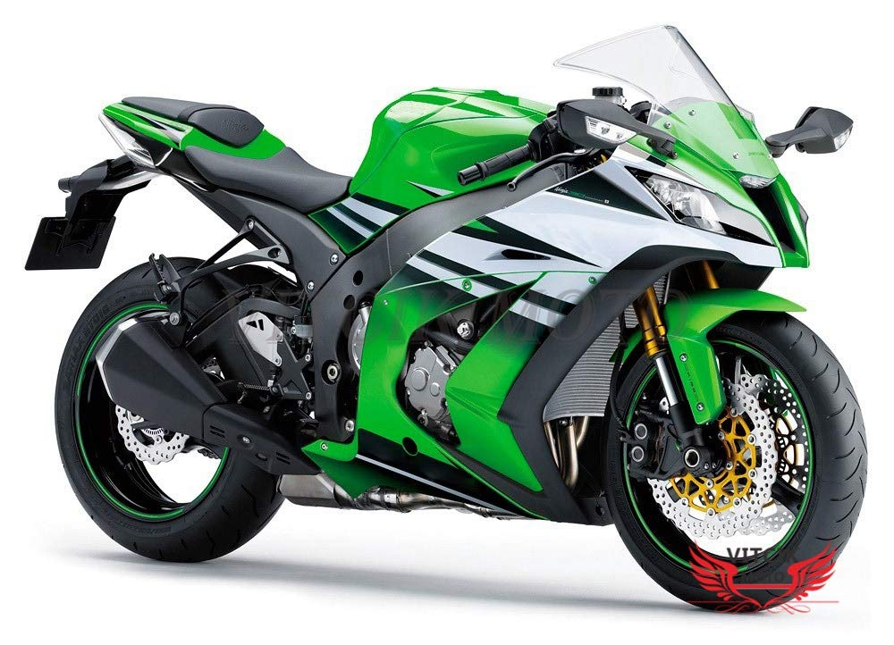 Amazon.com: VITCIK (Fairing Kits Fit Kawasaki ZX-10R ZX10R ...