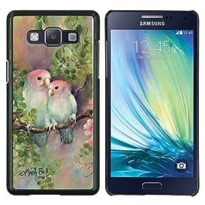 Stuss Case / Funda Carcasa protectora - Amantes amor Pintura Naturaleza Mano - Samsung Galaxy A5 ( A5000 ) 2014 Version
