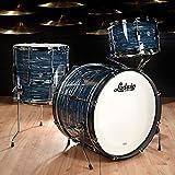 Ludwig Club Date 12/14/20 3pc Drum Kit Blue Strata