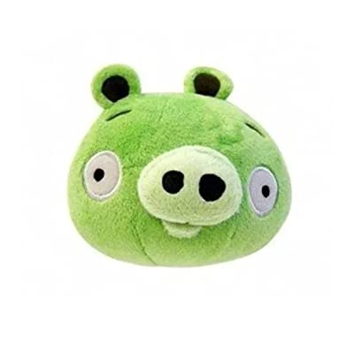 Other Manufacturer Angry Birds 5-Inch Plush - Green Pig: Toys & Games