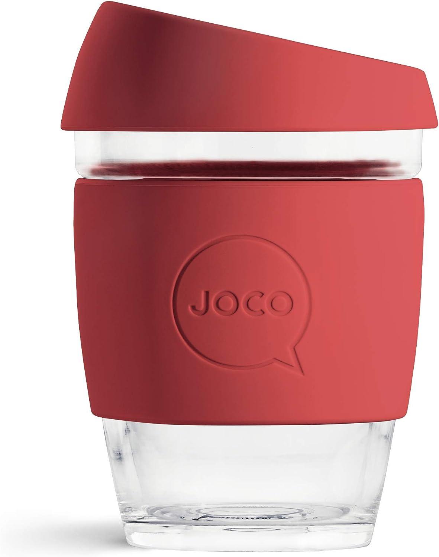 Joco Glass Reusable Coffee Cups 12oz Artist Series