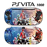 Decorative Video Game Skin Decal Cover Sticker for Sony PlayStation PS Vita (PCH-1000) - Power Rangers Super Megaforce