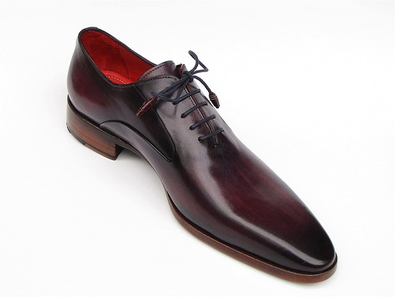 Paul Parkman Men's Plain Toe Oxfords Purple Shoes (ID#019): Amazon.co.uk:  Shoes & Bags