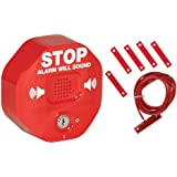 Safety Technology International, Inc. STI-6402 105 dB Exit Stopper® Multifunction Door Alarm for Double Doors with on…