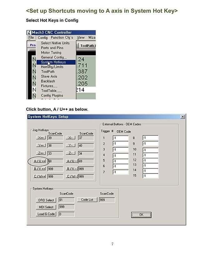 Cnc Control USB Key Board Mach3 Cm-111: Amazon co uk: DIY & Tools