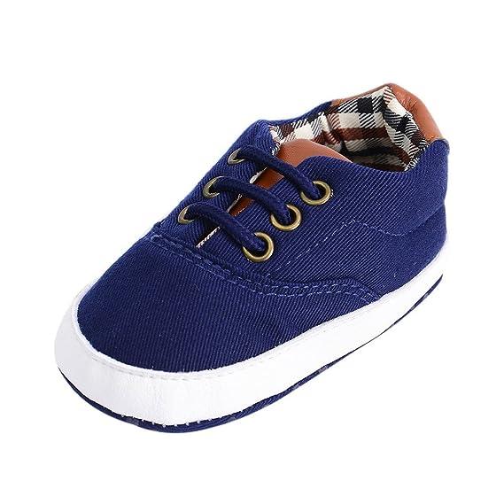 ❤ Zapatos de Lona Recién Nacido, Niño Bebés Bebés Chica Niño ...