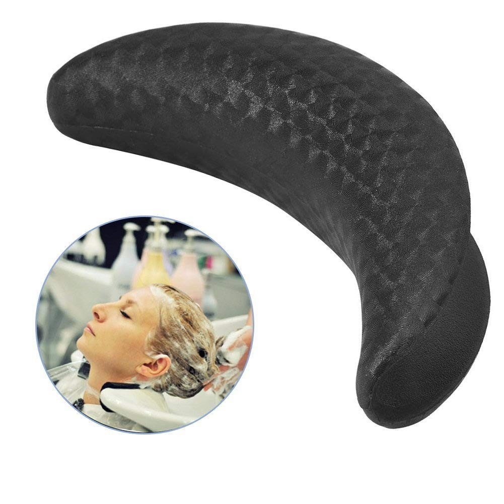 Shampoo Bowl Neck Cushion, Soft Gel Neck Rest Pillow for Salon Gripper Hair Wash Sink Basin Accessories Semme