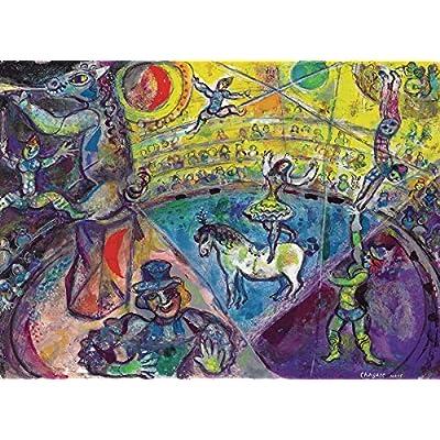 EuroGraphics Marc Chagall Le Cheval De Cirque Puzzle (1000 Piece): Toys & Games