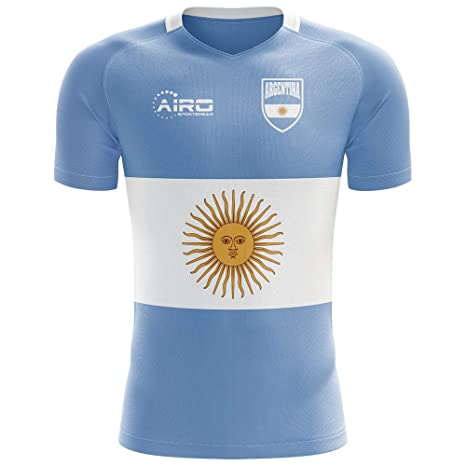 77c61cf93f2 Image Unavailable. Image not available for. Color: Airo Sportswear 2018-2019  Argentina Flag Concept ...