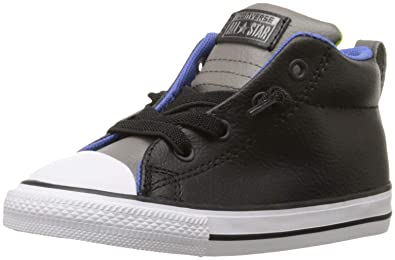 5714eab96f50 Converse Kids Boys' Chuck Taylor All Star Street Mid Leather  (Infant/Toddler)